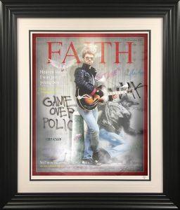 Faith - George Michael Framed