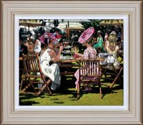 Afternoon Tea at Ascot (Framed)