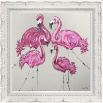 Be a Flamingo in the Flock of Pigeons