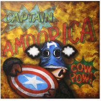 Captain Amoorica - Canvas