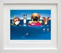 Doggie Paddle (Framed)