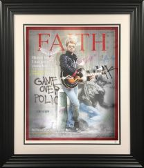 Faith - George Michael Framed