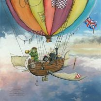 Mr Toad and Moeley's Fantastic Flying Machine