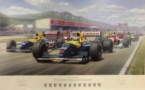 Il Leone - World Champion (Hand signed by Nigel Mansell)