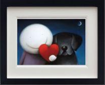 We Share Love (Black Frame)