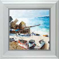 Reflections- Sennen Cove