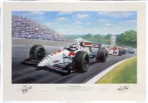 Red Five (Signed by Nigel Mansell)