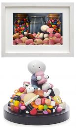 Life is Sweet (Framed Print & Sculpture)