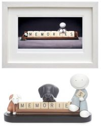 Making Memories (white frame, pair)