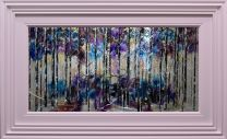 Birch Forest in Silver